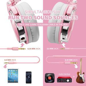 Image 5 - Oneodio DJ Headphone with Microphone Gaming Hifi Headset DJ Earphone For Phone High Quality Professional Studio Headphone Hifi