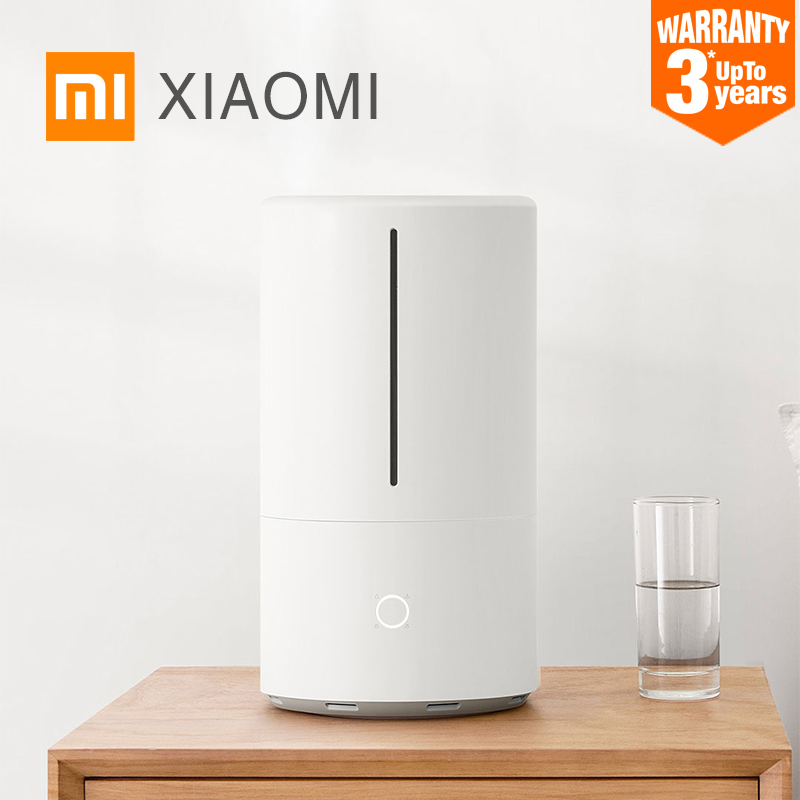 2019 Xiaomi Mijia Smart Sterilization Humidifier 4.5L Large Capacity Water Tank UV-C Instant Sterilization Support APP Control