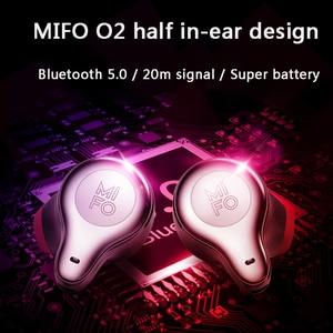 Image 5 - Mifo O2 Touch Twee Mini Bluetooth 5.0 Headsets Echte Draadloze Oordopjes Handsfree Micro Waterdichte Oortelefoon Met Opladen Doos