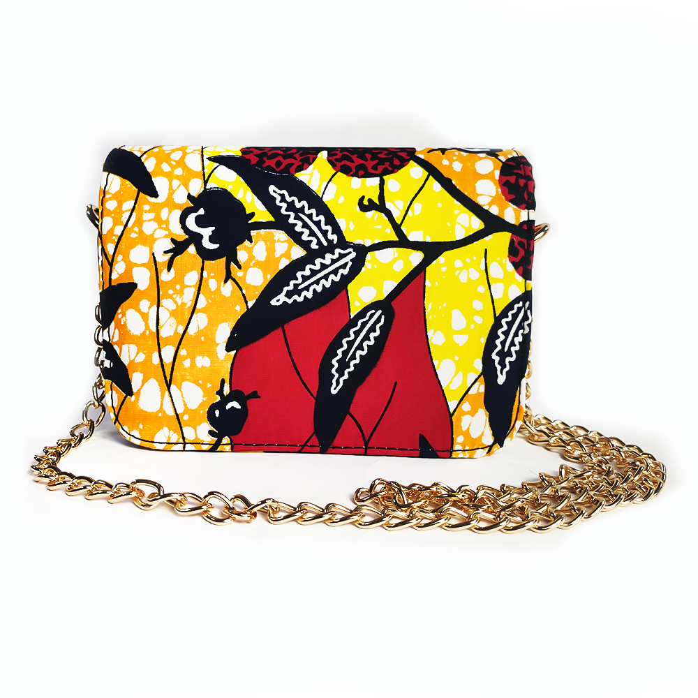 African Bag Ankara Print Fashion Inclined Shoulder Bag Crossbody Bag Ankara Print Bag African Traditional Print Bag Ankara Bag