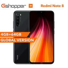 "Version mondiale Original Xiaomi Redmi Note 8 4GB RAM 64GB ROM 6.3 ""Snapdragon 665 48MP 4000 mAh 18W empreinte digitale visage ID infrarouge"