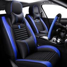 Couro De luxo tampa de assento do carro Para mercedes ml w164 ml w163 w124 w212 w245 w169 w246 cla abl acessórios w639 tampas de assento para carro
