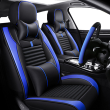 Deluxe Leather car seat cover For mercedes w124 w245 w212 w169 ml w163 w246 ml w164 cla gla w639 accessories seat covers for car