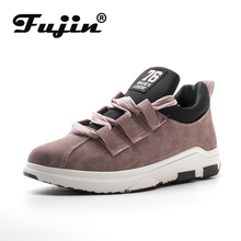 2019 Fujin Spring Summer Autumn women new arrival sneakers Round Toe Female Casual Flats Outdoor Walking Shoes Comfortable
