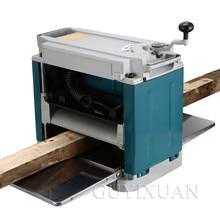 Многофункциональный Электрический деревообрабатывающий строгальный станок, бытовые инструменты, высокая мощность, односторонний Настольный деревянный строгальный станок