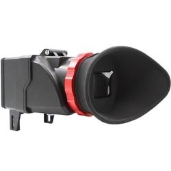 Ffyy wizjer Eyecup okular 3.2 Cal lustrzanka cyfrowa 3X Zoom 3X powiększenie dla Canon Sony w Akcesoria do kamer 360° od Elektronika użytkowa na