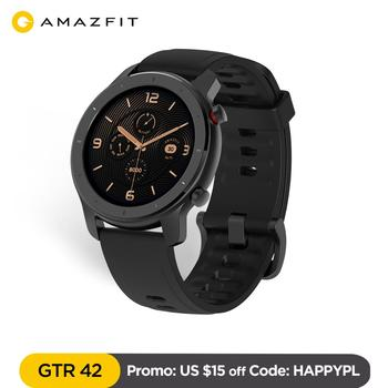 Amazfit GTR Smart Watch waterproof 12 Days Battery Music Control