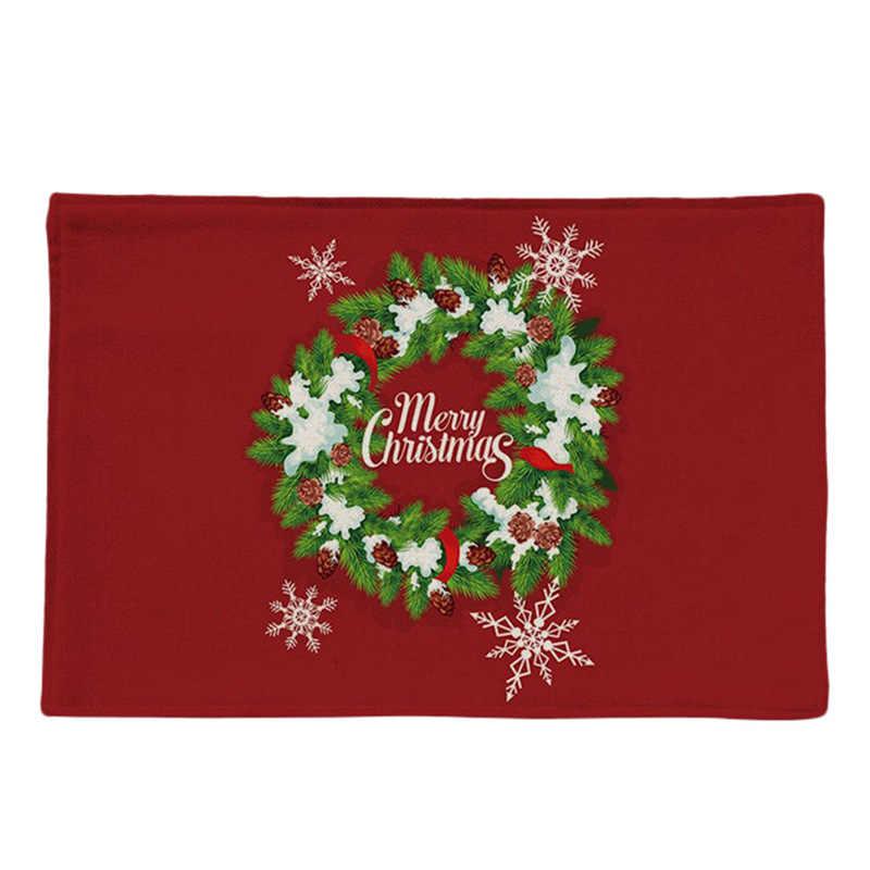 Mantel de Navidad decoración de restaurante Hotel mantel de cumpleaños mantel creativo para el hogar mantel de mesa decoraciones #4G13