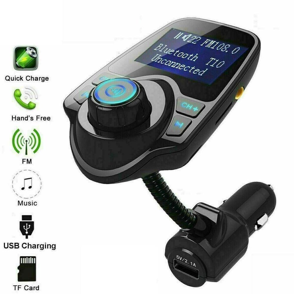 Автомобильное зарядное устройство USB адаптер для автомобильного прикуривателя Зарядное устройство s беспроводной автомобильный Bluetooth fm передатчик MP3 радио адаптер автомобильный комплект|FM-трансмиттеры|   | АлиЭкспресс