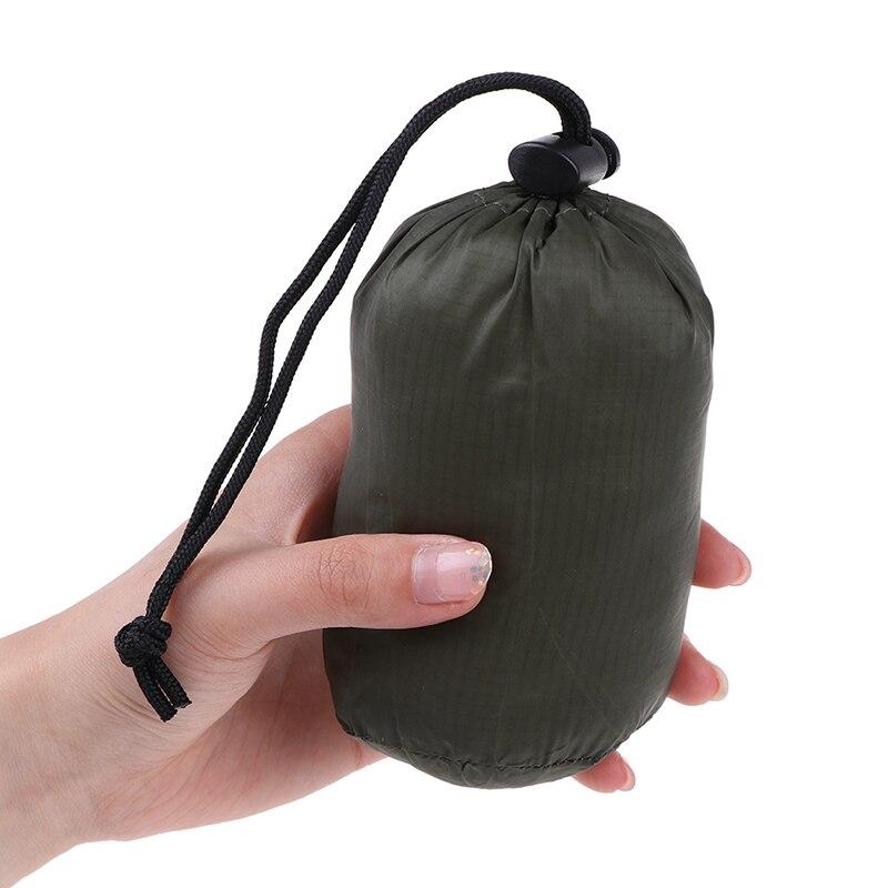 1pc Lightweight Camping Sleeping Bag Storage Bag Outdoor Emergency Sleeping Bag Storage With Drawstring Sack For Camping Hiking