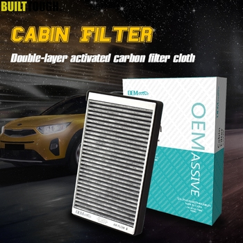 Car Pollen Cabin Filter Activated Carbon YL8Z19N619AB For Ford Escape Maverick Mazda Tribute 2001 2002 2003 2004 2005 2006 2007 image
