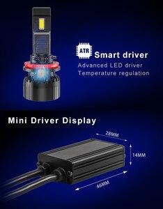 Image 5 - CN360 2PCS H7 9005 HB3 9006 HB4 H4  H11 Canbus LED  Headlight Bulb 10000LM 6500K 45W 12V Car Light for Audi for BMW for All Cars