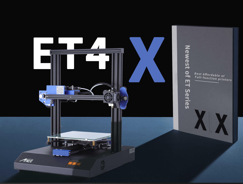 Anet ET4 ようET4X 3dプリンタ 220*220*250 ミリメートルビッグプリンタサイズの家と家族diy高精密機械と 10 メートルplaフィラメント
