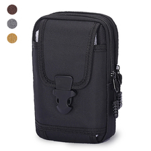 Tactical Phone Pouch Bag Molle Mobile Phone Pouch Money Tools Bag Belt Military Hunting Molle Smartphone Bag Oxford Cloth