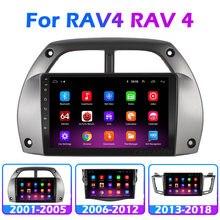 Rádio multimídia automotivo, rádio com reprodutor multimídia automotivo para toyota rav4 rav 4 2001 2002 2003 2004 2005 2006 2007 2008 2012 2013 2014 2015