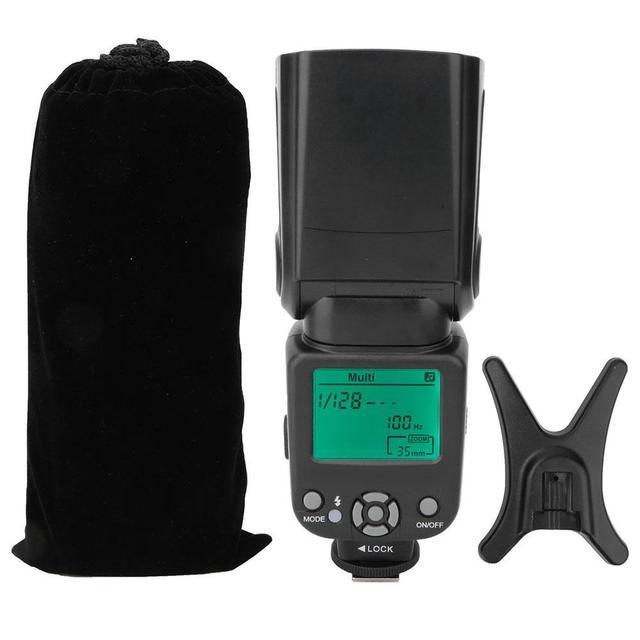 TRIOPO TR-950 latarka lampy błyskowej Speedlite uniwersalny profesjonalna lampa błyskowa-światła i staje w sytuacji sam na sam kamera zewnętrzna Speedlite do canona Nikon lampy błyskowej tanie i dobre opinie Camera Flashlight 493 7 10 30*8 00*23 50 Flash Light