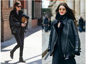 Image 3 - משלוח חינם, אופנה נשים אמיתי עור מעיל, חורף חם 100% פרווה מעיל. כבש צמר בגדים, בתוספת גודל shearling בגדים