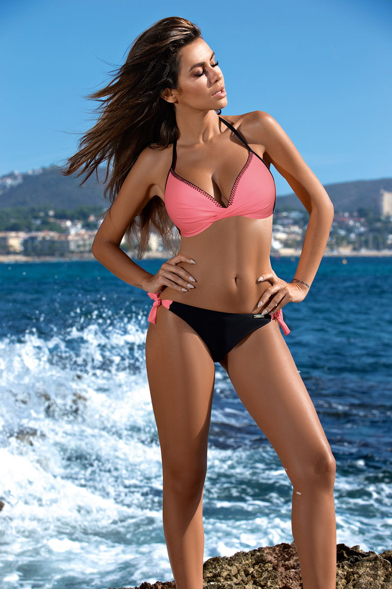 Thong Bikini 2019 Brazil Sexy Push Up Swimsuit Halter Fashion Swim Suit Low Waist Swimming Wear Pad UnderWire Swimwear Women Buy 2