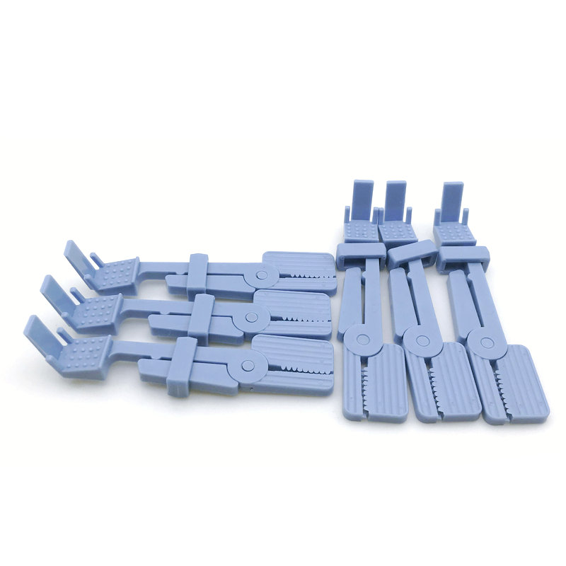 6pcs NEW Dental Plastic Snap X-Ray Film Radiograph Holder Clip
