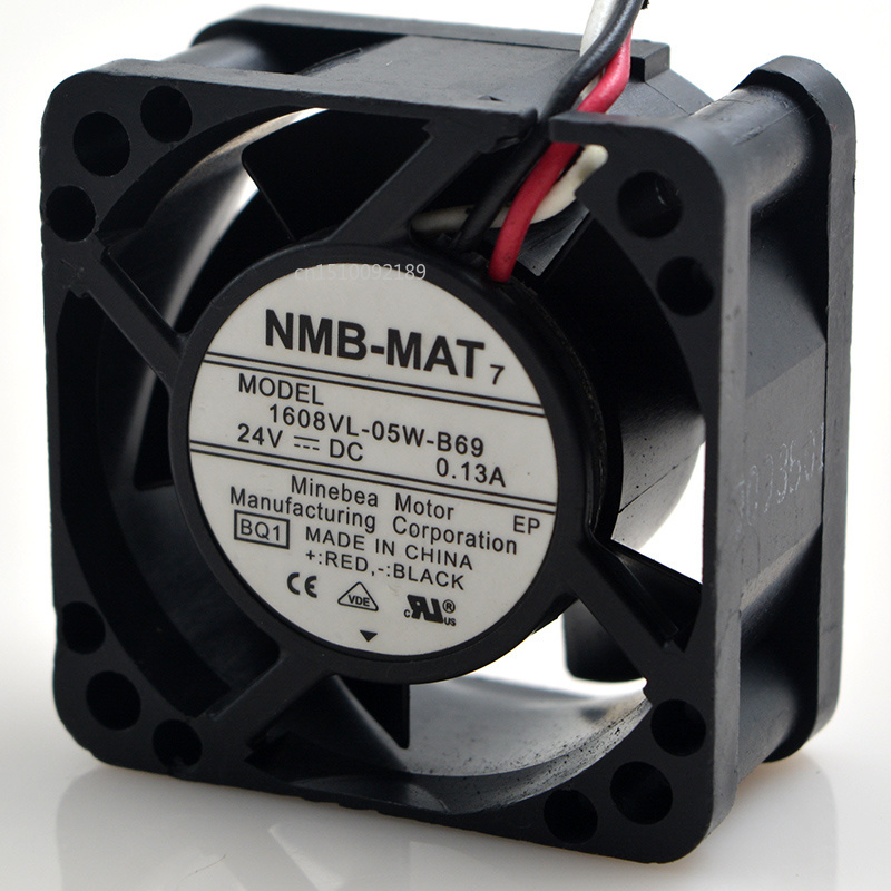For NMB 1608VL-05W-B69 Computer Blower Cooling Axial Fan DC 24V 0.13A 4020 40*40*20mm 9500RPM 3 Wires Free Shipping