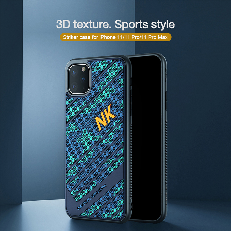 NILLKIN For iPhone 11 Silicone PC back Cover For iPhone 11 Pro Case smooth Shockproof for iPhone 11 Pro Max case 6.5/6.1/5.8