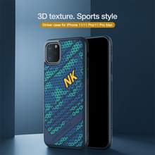 Nillkin for iphone 11 실리콘 pc 뒷면 커버 for iphone 11 pro 케이스 iphone 11 pro max case 6.5/6.1/5.8 용 부드러운 충격 방지