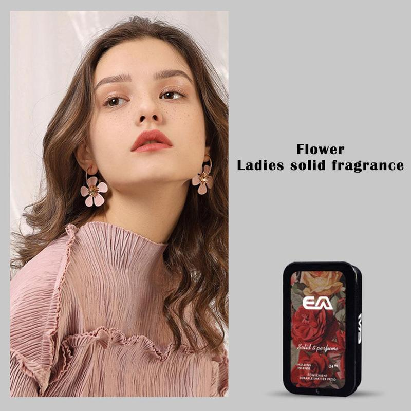 Portable Body Deodorant Balm Solid Retro Fragrance Perfume Balm Mild Long Lasting Aroma Deodorant Fragrance