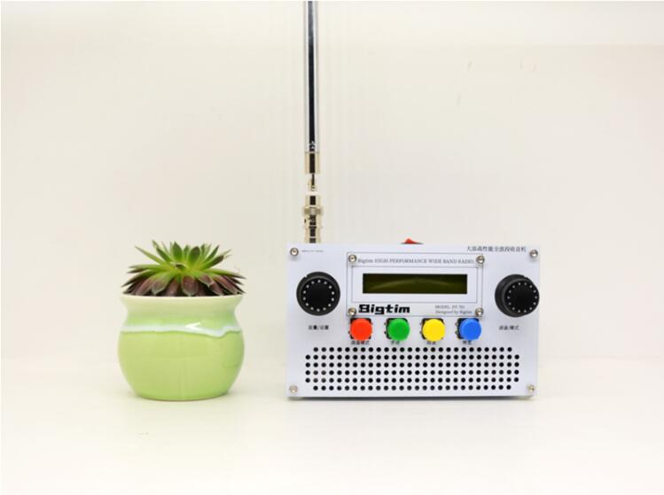 DT701 All Band Radio Receiver LW MW SW FM-L FM  with lithium 5000mAh battery + Antenna + Speaker + Case
