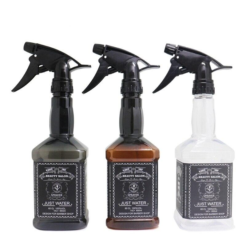 3 pçs 650 ml hairdressing spray garrafa