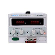 LW 3030KD 30 V/30A di Alta Precisione Display Digitale DC Regolabile alimentazione Regolata di Alimentazione di Riparazione Test Lab Alimentazione Elettrica di Commutazione