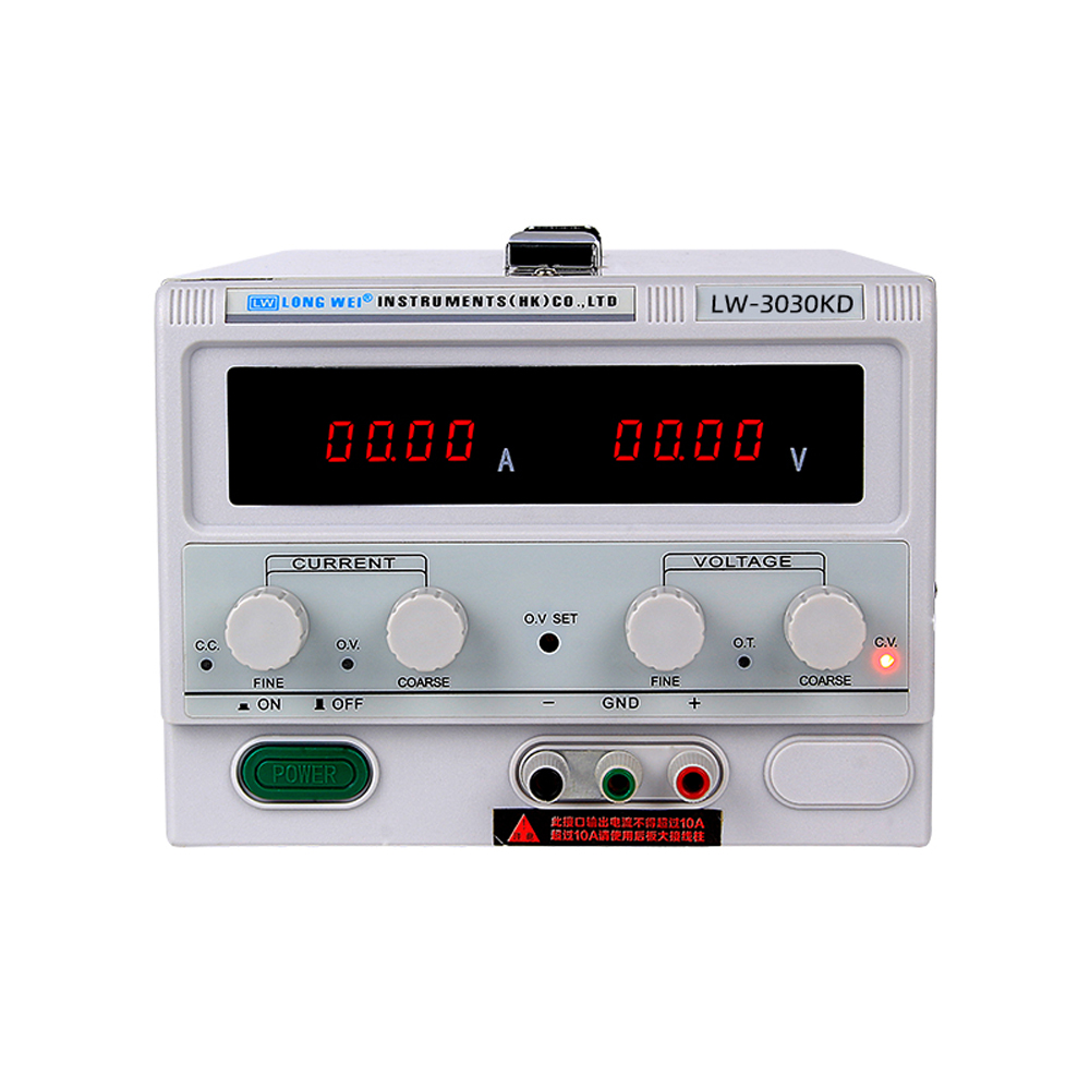LW 3030KD 30V/30A High Precision Digital Display Adjustable DC Regulated Power Supply Repair Testing Lab Switching Power SupplyVoltage Regulators/Stabilizers   -