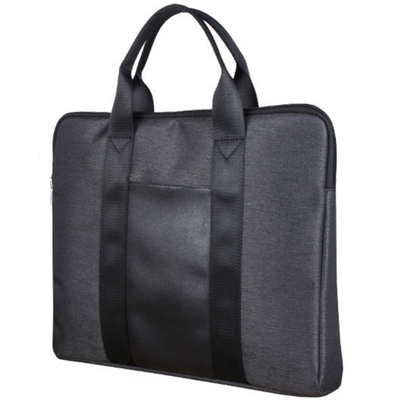 NEW-Business Office Men'S Briefcase Practical Simple Large Capacity File Bag Oxford Cloth Handbag