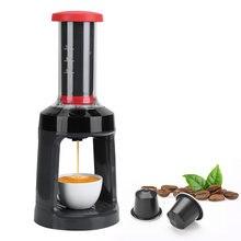K-cup automatyczne prasowanie ekspres do kawy kapsułki z kawą ekspres do kawy Espresso ręczna prasa francuska Cafetera