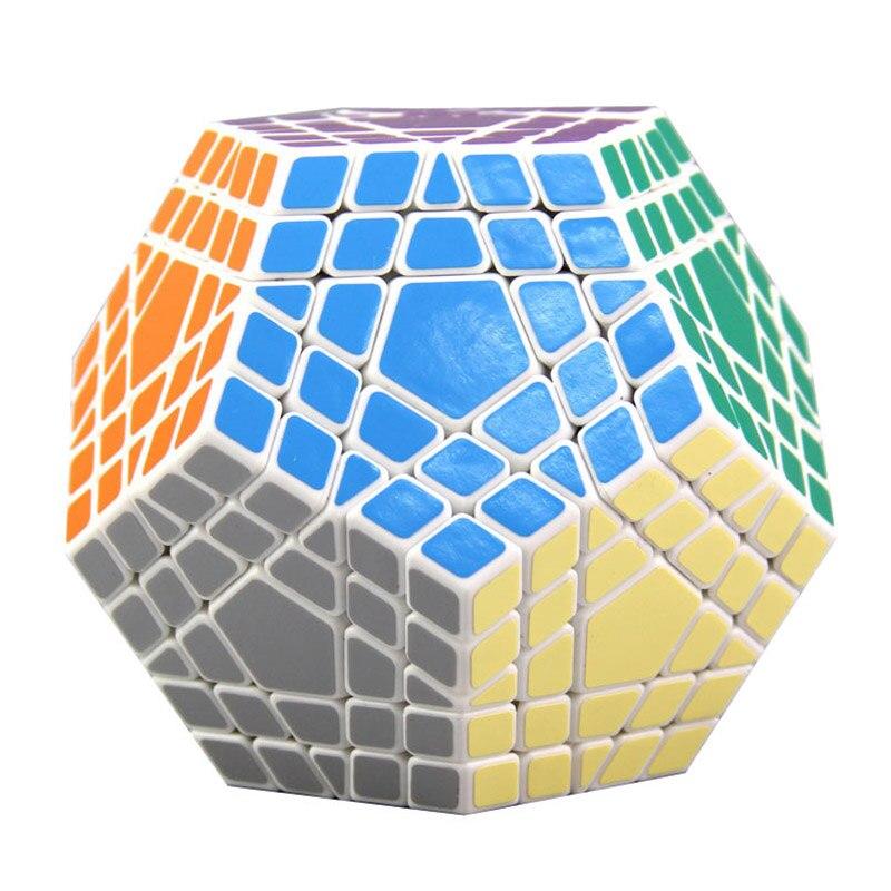 SS 5x5x5 Megaminx professionnel Magicco Cube vitesse Cubes Puzzle néo Cube Cubo Magico autocollant adulte Anti-stress jouets pour enfants