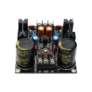 Image 2 - GHXAMP LM317 LM337 Servo Rectification Filter Power Supply Board AC to DC NEW