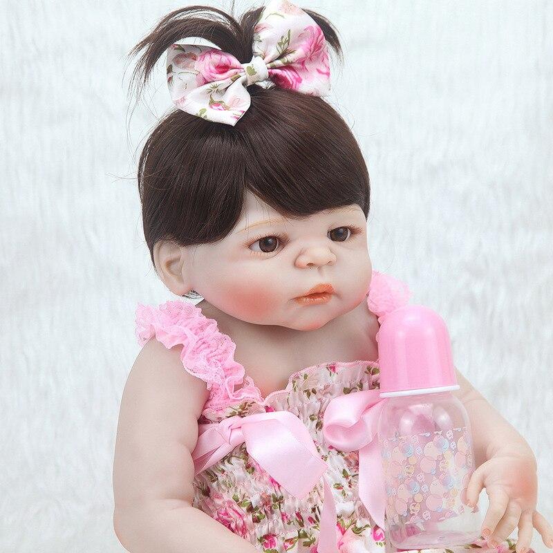 Réaliste bébé Reborn poupée Silicone souple 22