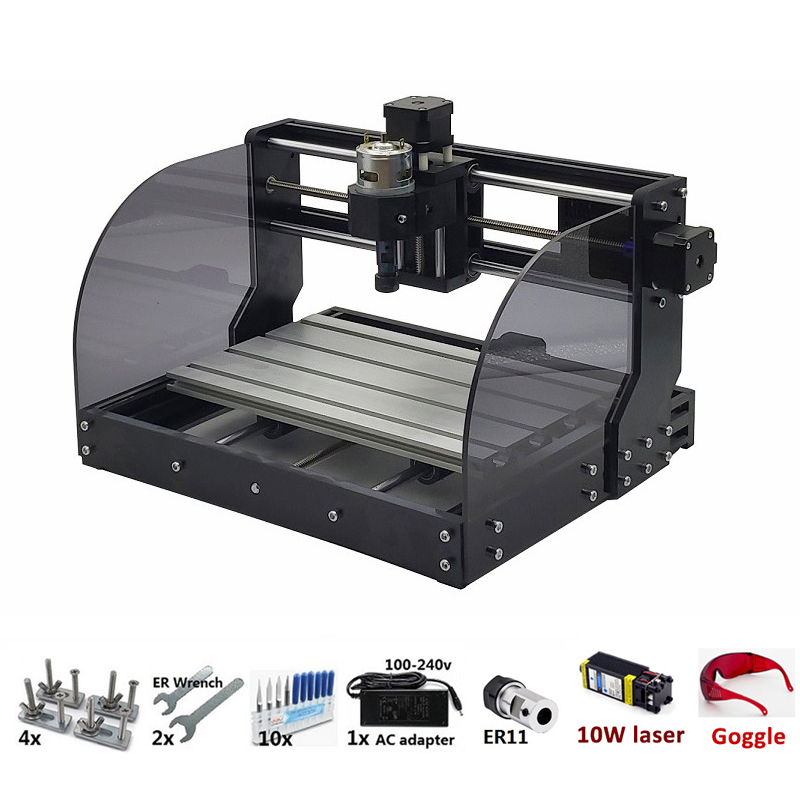 3018 CNC Machine With Bluetooth And USB Port for Wood/Plastic/PCB/Acrylic/Plywood 1