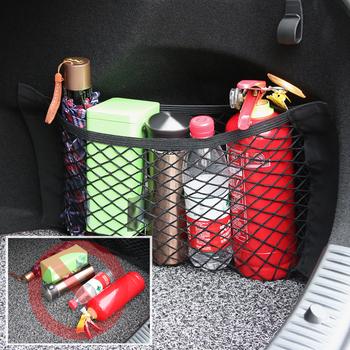 Samochód siatka bagażowa torby do przechowywania Organizer kieszeniowy uchwyt dla peugeot 206 207 208 307 308 407 508 2008 3008 dla citroen c4 c5 c3 tanie i dobre opinie CN (pochodzenie) Kieszeń tylnego siedzenia Nylon Auto interior accessories Storage Rear Seat