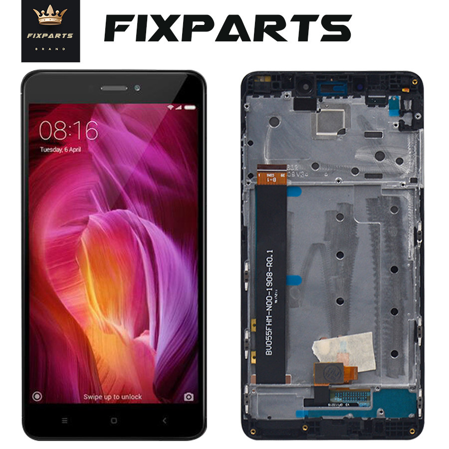 Xiaomi <font><b>Redmi</b></font> <font><b>Note</b></font> <font><b>4</b></font> LCD Display With Touch Panel LCD <font><b>Screen</b></font> Digitizer Assembly Replacement Note4 5.5