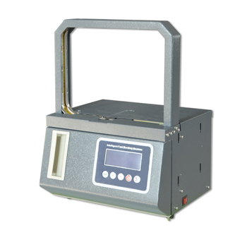 Intelligent Edge Banding Machine Portable Micro-strapping desk top banknote/ paper/ food/Vegetable and money strapping machine
