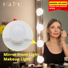 USB LED Bulb 12V Makeup Lamp Wall Light Beauty Bulbs Kit For Dressing Table Stepless Dimmable Hollywood Vanity Mirror Light