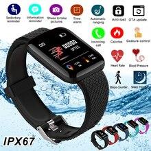 Pulsera inteligente deportiva con control del ritmo cardíaco, podómetro, pulsera de Cardio, reloj inteligente con medición de presión