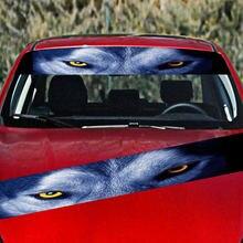 Передняя Автомобильная наклейка задний ужас Декор 3d наклейки