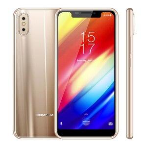 Image 4 - Оригинальный смартфон HOMTOM H10, Android 8,1, Восьмиядерный процессор, 4 ГБ, 64 ГБ, 3500 мАч, задняя камера 16 Мп + 2 Мп, сканер отпечатка пальца