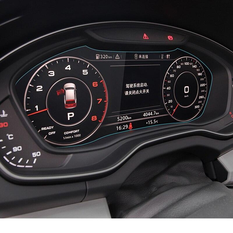 Lsrtw2017 HD Car Dashboard Screen Protective Film For Audi A4 A6 A3 A5 Q3 Q5 Q7 A8 Accessories Anti-scratch Sticker Auto