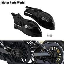 Motosiklet 2 adet ABS arka Swingarm arka kapaklar aks somun kapak kapakları siyah süslemeleri aksesuarları hint İzci modelleri 2015 2016