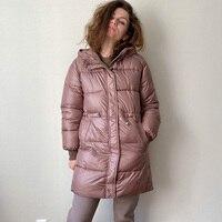 Зимняя куртка с утяжками на талии Цена от 2208 руб. ($27.53) | 168 заказов Посмотреть
