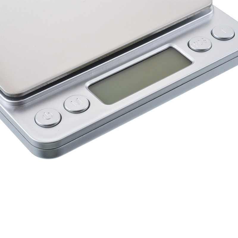 0.01/0.1g nowy LCD o wysokiej dokładności waga cyfrowa 500g/1/2/3kg Mini elektronicznych gramów wagi skala balansu do herbaty do pieczenia waga analityczna