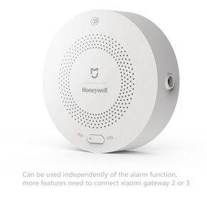 Image 3 - Original Xiaomi Honeywell Fire Alarm เซ็นเซอร์ควันเครื่องตรวจจับก๊าซทำงานร่วมกับ Multifunction GATEWAY 2 Smart Home Security APP Control