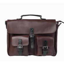 Дизайнерская сумка кожаная для мужчин мужской портфель ноутбука
